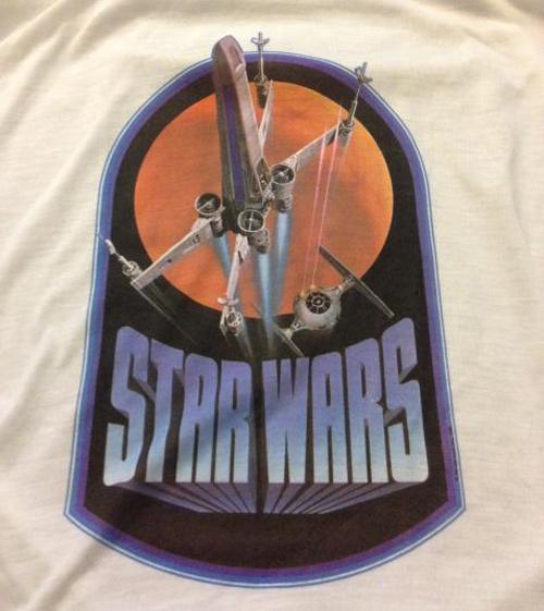 Vintage Star Wars Dogfight T-Shirt