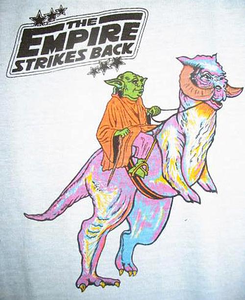 Bizarre Yoda Tauntaun T-Shirt