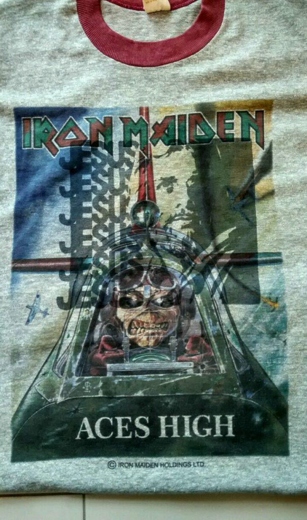 Jesus on Iron Maiden T-Shirt