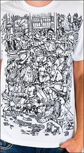 ames bros bar fight shirt